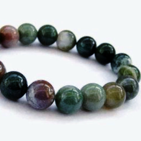 Fancy Jasper Power Bracelet for Tranquility and Peace of Mind-6mm - New Earth Gifts
