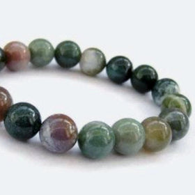 Fancy Jasper Power Bracelet for Tranquility and Peace of Mind-8mm - New Earth Gifts