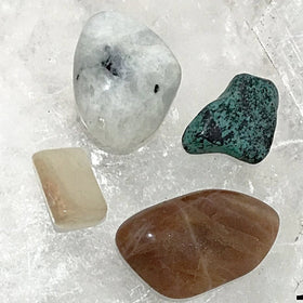 Feminine Energy 4 pc Gemstone Sets | New Earth Gifts