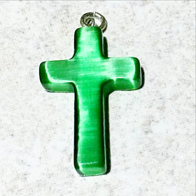 Fiber Optic Cross Pendant - New Earth Gifts