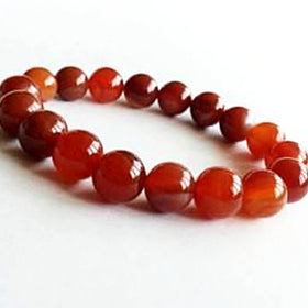 Fire Agate Power Bracelet for Energy and Vitality-8mm - New Earth Gifts