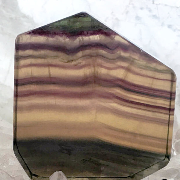 Fluorite Polished Slab Warm Colors For Sale New Earth Gifts