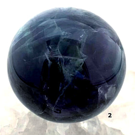 Fluorite Sphere - Highly Polished For Sale New Earth Gifts