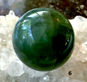 Fluorite 50mm Spheres 6 - New Earth Gifts