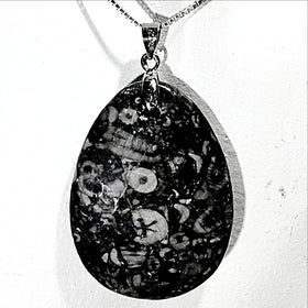 Fossil Jasper Pendant - New Earth Gifts