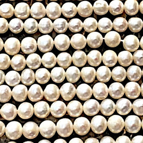 Freshwater Pearls-16 Inch Strands, 5mm Cultured Pearls| New Earth Gifts