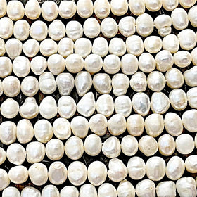 Freshwater Pearls-8mm Potato Pearls | New Earth Gifts