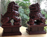 Fu Dogs Pair - Chinese Guardian Lions - New Earth Gifts