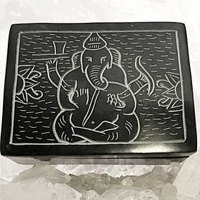 Ganesh Stone Box | New Earth Gifts