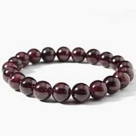 Garnet Power Bracelet for Rejuvenation and Happiness-8mm