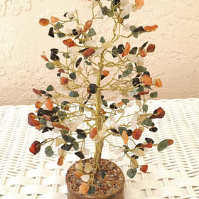 Gemstone Tree of Life - Large Multi-Gem Tree - New Earth Gifts
