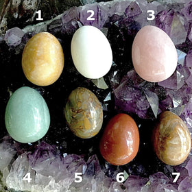 Gemstone Egg 50mm - New Earth Gifts and Beads