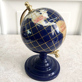 Gemstone Globe for Home or Office | New Earth Gifts