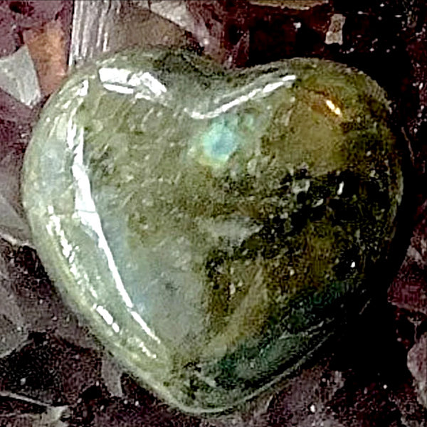 Labradorite Heart - New Earth Gifts and Beads
