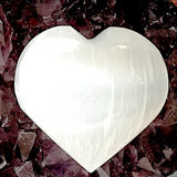Selenite Heart - New Earth Gifts and Beads