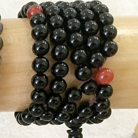Gemstone Mala Beads of Black Onyx - New Earth Gifts
