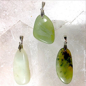Jade Pendant 3 Piece Group - New Earth Gifts