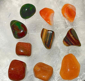 Gemstone Set - Courage And Confidence For Sale New Earth Gifts