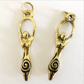 Goddess Pendant or Charm - New Earth Gifts