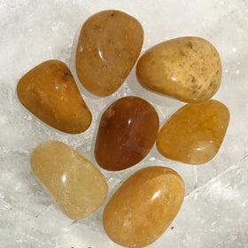 Gold Quartz Tumbled Stone 1 Pc - New Earth Gifts