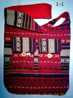 Cross Body Shoulder Bag - Guatemalan Style Bag - New Earth Gifts