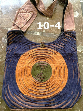 Cross Body Shoulder Bag with Universal Energy Symbol - New Earth Gifts