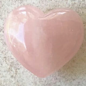 Rose Quartz Heart - New Earth Gifts