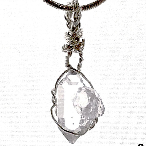 Herkimer Diamond Pendant Extra Special - New Earth Gifts and Beads