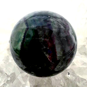 High Polished Fluorite Sphere (50mm) For Sale New Earth Gifts