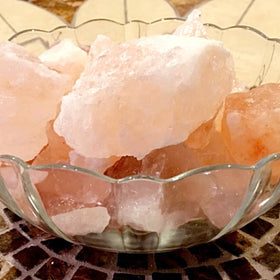 Himalayan Salt Cubes, Bath Salts. 3 lb Bag. Brine Therapy - New Earth Gifts and Beads