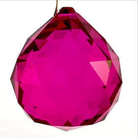 Hot Pink Crystal Prisms | New Earth Gifts