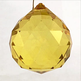 Yellow Crystal Prisms - New Earth Gifts