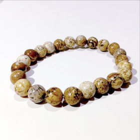 Picture Jasper Power Bracelet for Serenity-8mm | New Earth Gifts
