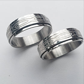 stainless steel ring - new earth gifts