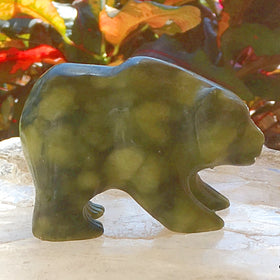 Jade Bear Figurine For Sale New Earth Gifts