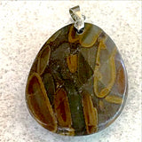 Jasper Gemstone Faceted Pendants -New Earth Gifts