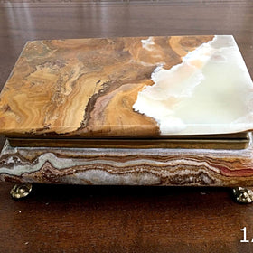 Onyx Jewelry Box - New Earth Gifts