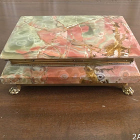 Onyx Rectangular Jewelry Box - New Earth Gifts