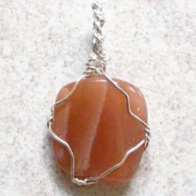 Large Moonstone Pendant In Sterling Silver For Sale New Earth Gifts