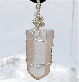 Lemurian Seed Crystal Pendant | New Earth Gifts