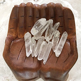 Lemurian Clear Seed Crystals 11 pc Lot | New Earth Gifts