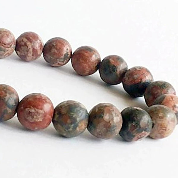 Leopardskin Jasper Power Bracelet-8mm | New Earth Gifts