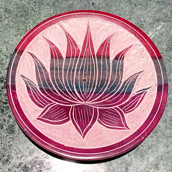 Lotus Incense Holder with Incense Sticks - Choice of Incense | New Earth Gifts