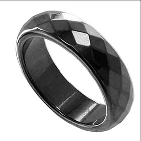 magnetic hematite ring - new earth gifts