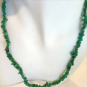 Malachite Chip Necklace with Matching Bracelet | New Earth Gifts