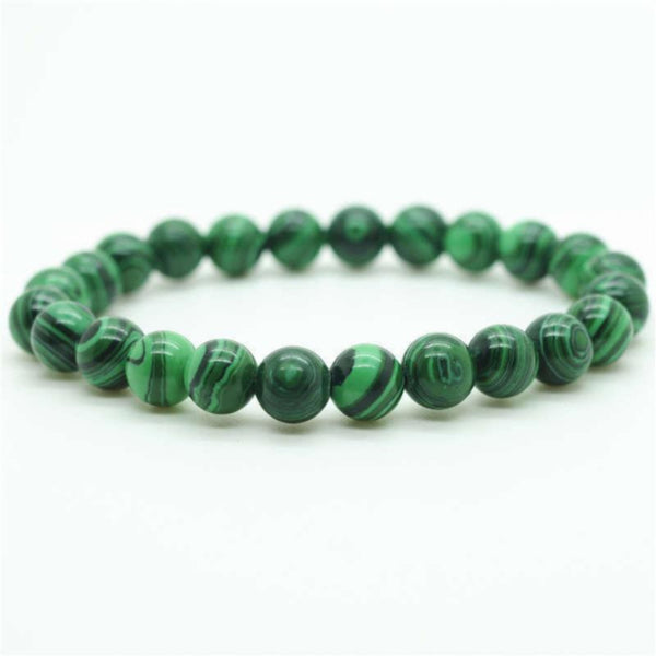Malachite Power Bracelet for Transformation-8mm - New Earth Gifts