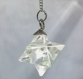 Quartz Merkaba Pendulum | New Earth Gifts