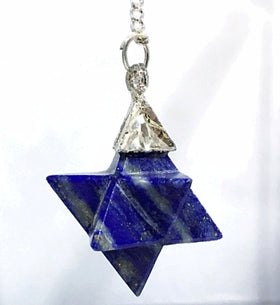 Sodalite Merkaba Pendulum | New Earth Gifts