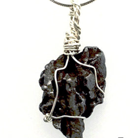 Meteorite Pendant in Sterling Silver Celestial Energy | New Earth Gifts
