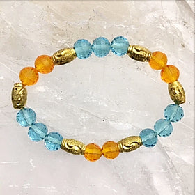 Miami dolphin fan bracelet - new earth gifts